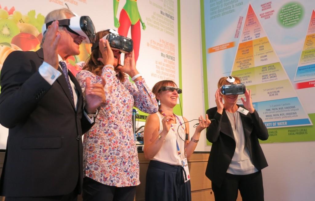 A Expo la Fullin tra i frutteti virtuali di Salvi